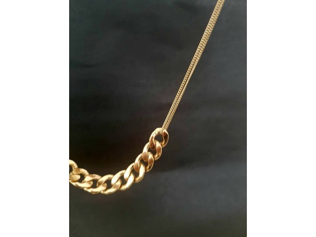 Collier doré bijoux collection tendance femme