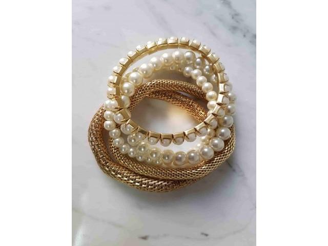 Lot de bracelets élastiques Fara