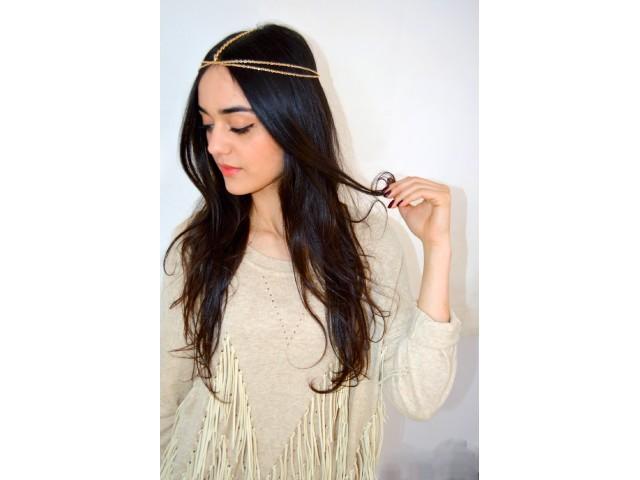 Couronne pour cheveux multi-chaines