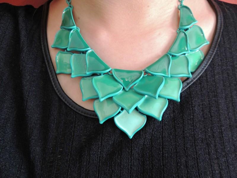 Collier Couleur Vert émeraude