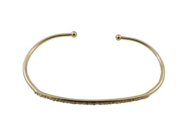 Bracelet de paume avec barrette en cristal